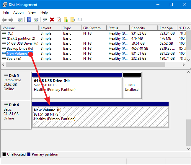 The Windows Disk Partitioning Tool