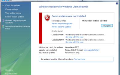 How to Fix Windows Update Errors